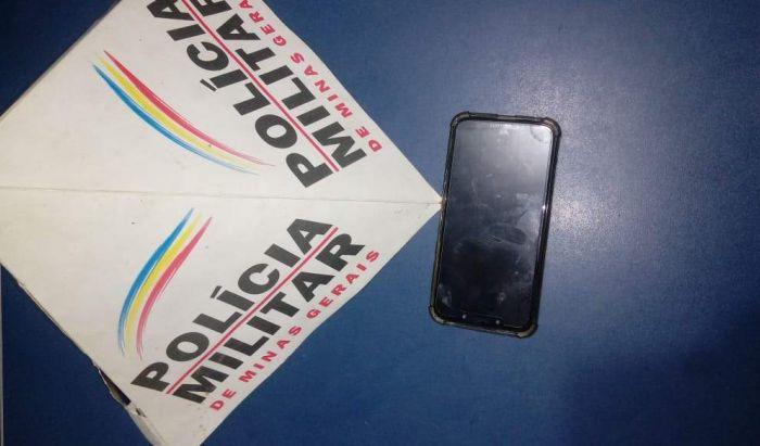 PM recupera celular furtado em Manhumirim - Portal Caparaó